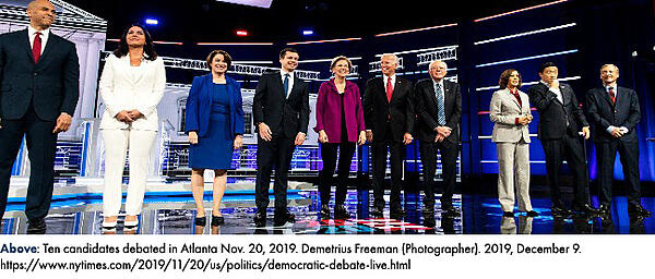 Ten candidates debated in Atlanta Nov. 20, 2019.